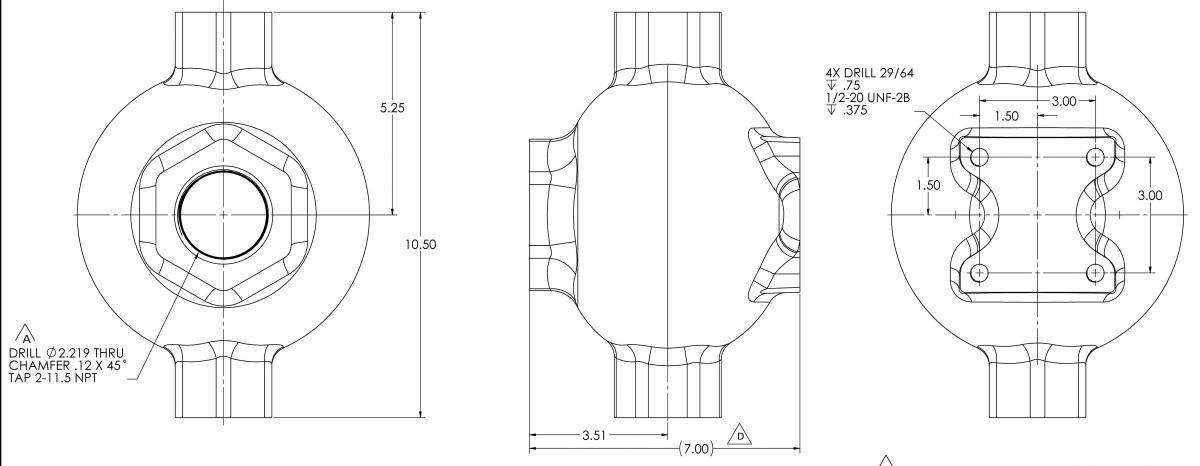 ls200 float chamber dimensions